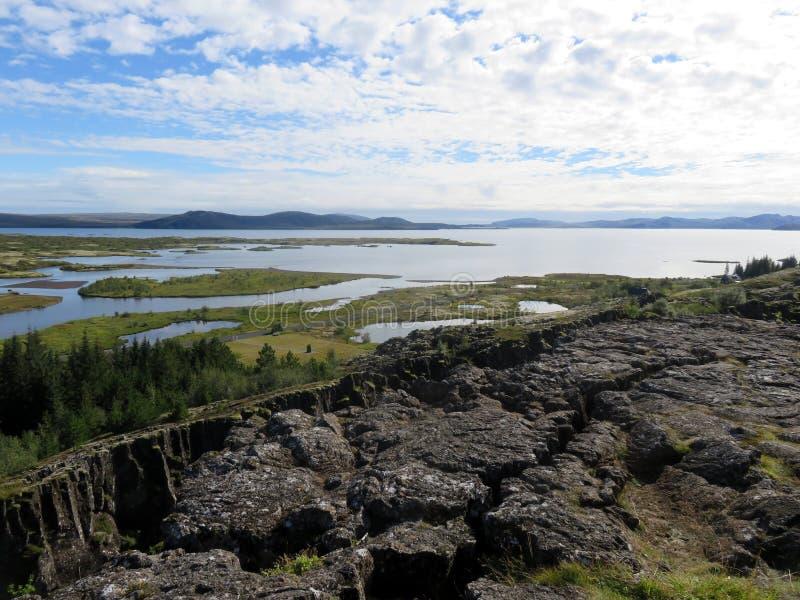 Arcipelago islandese fotografia stock