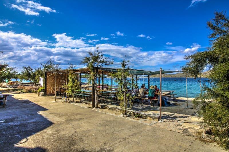 Arcipelago - paesino di pescatori immagini stock