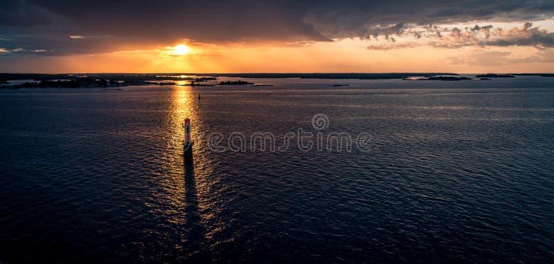 Arcipelago svedese immagini stock