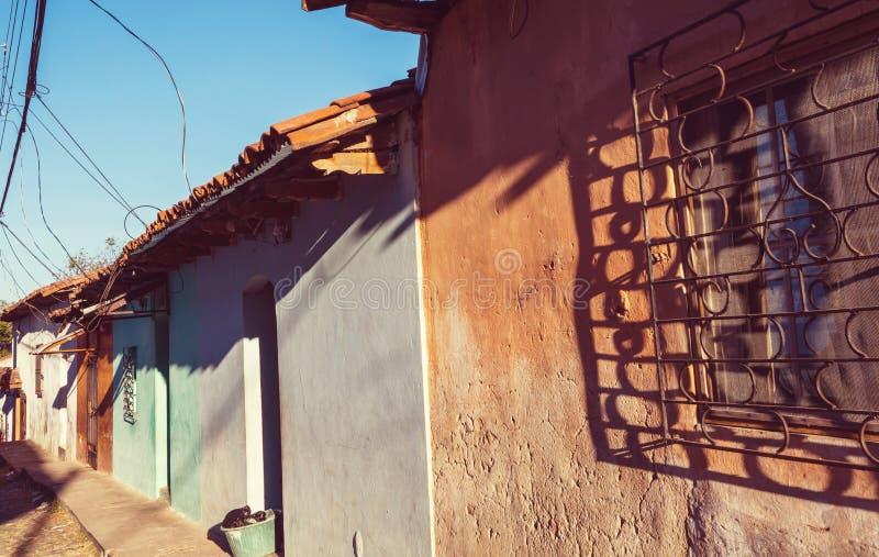 Arcitecture colonial em El Salvador foto de stock royalty free