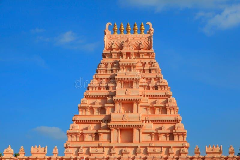 Arcitecture de temple hindou photos stock