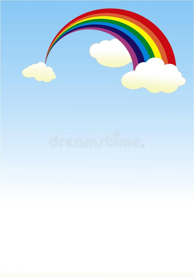 Arco-íris ilustração do vetor