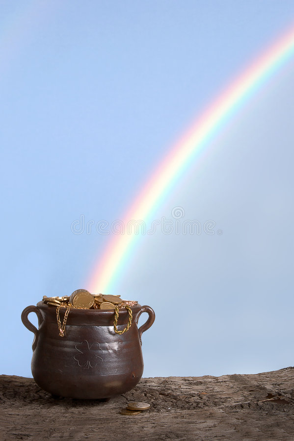 Arco-íris de Patrick de Saint foto de stock royalty free