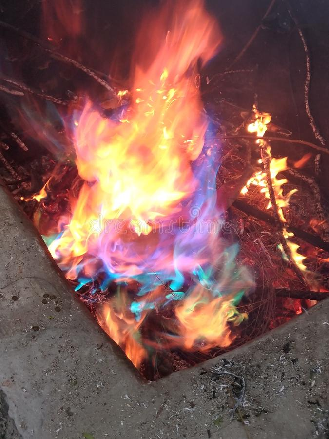 Arco-íris do fogo fotos de stock royalty free