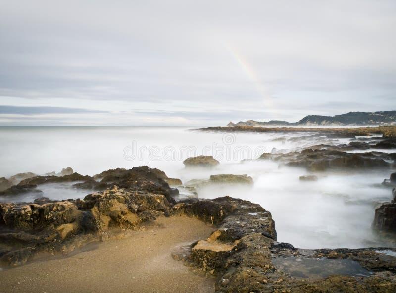 Arco-íris mediterrâneo fotos de stock