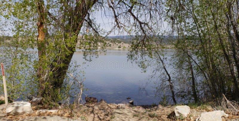 Arco al lago immagine stock libera da diritti