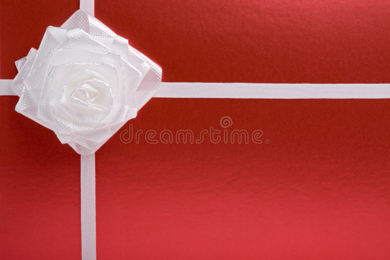Download Arco bianco (è aumentato) illustrazione di stock. Illustrazione di nastro - 7320913