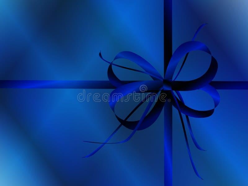 Download Arco Blu E Carta Da Imballaggio Illustrazione di Stock - Illustrazione di saluto, presente: 7308030