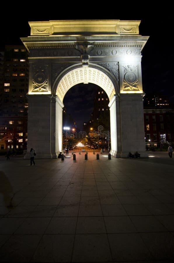 Arco cuadrado de Washington foto de archivo libre de regalías