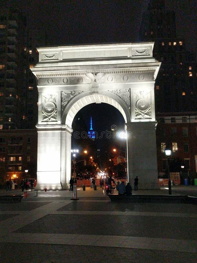 Arco cuadrado de Washington fotos de archivo libres de regalías