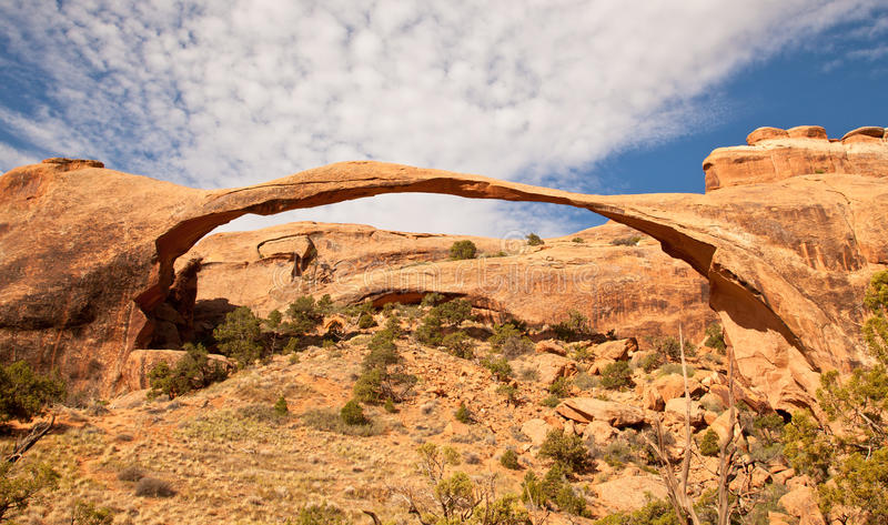 Arco da paisagem fotografia de stock
