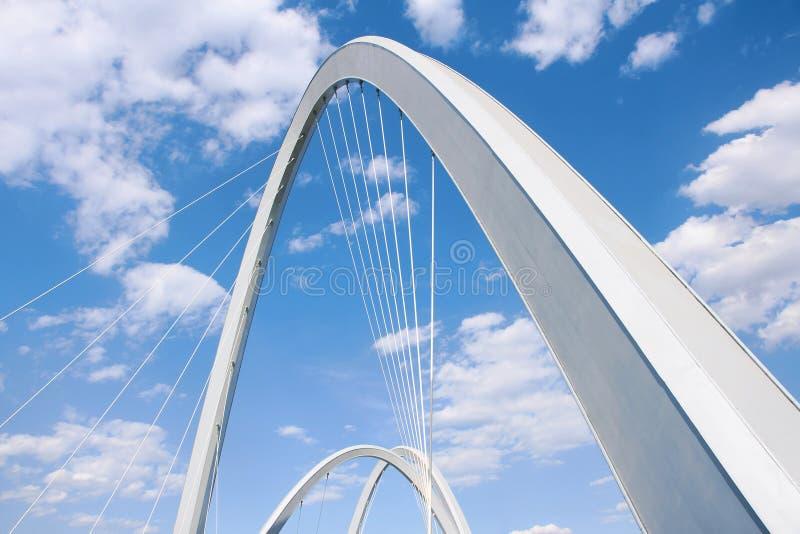 Arco da ponte fotografia de stock
