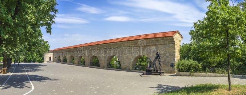 Arco da quarentena em Odessa, Ucrânia imagens de stock