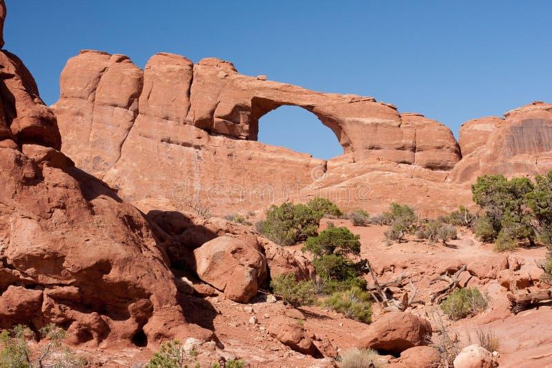 Arco da skyline imagem de stock royalty free