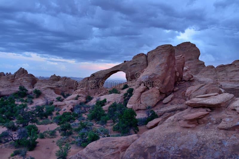 Arco da skyline imagens de stock royalty free