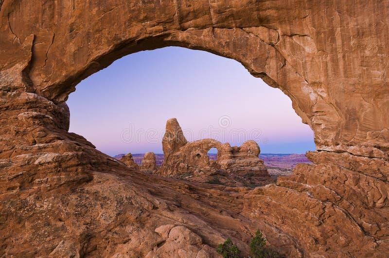Arco da torreta fotografia de stock royalty free