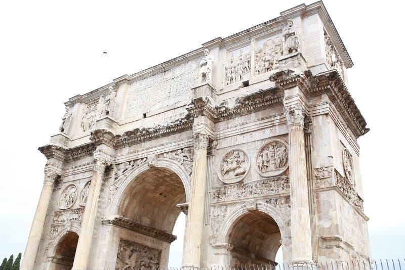 Arco de Constantine Arco di Costantino imagem de stock