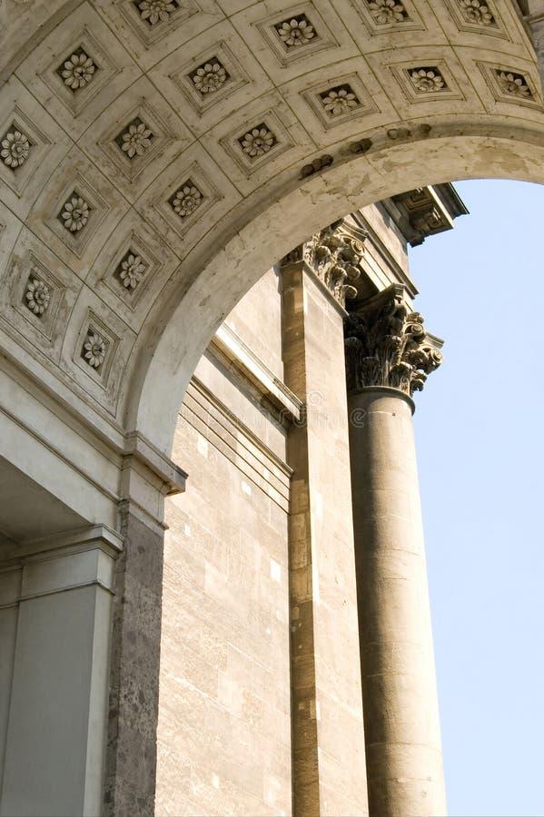 Arco de Esztergom imagens de stock royalty free