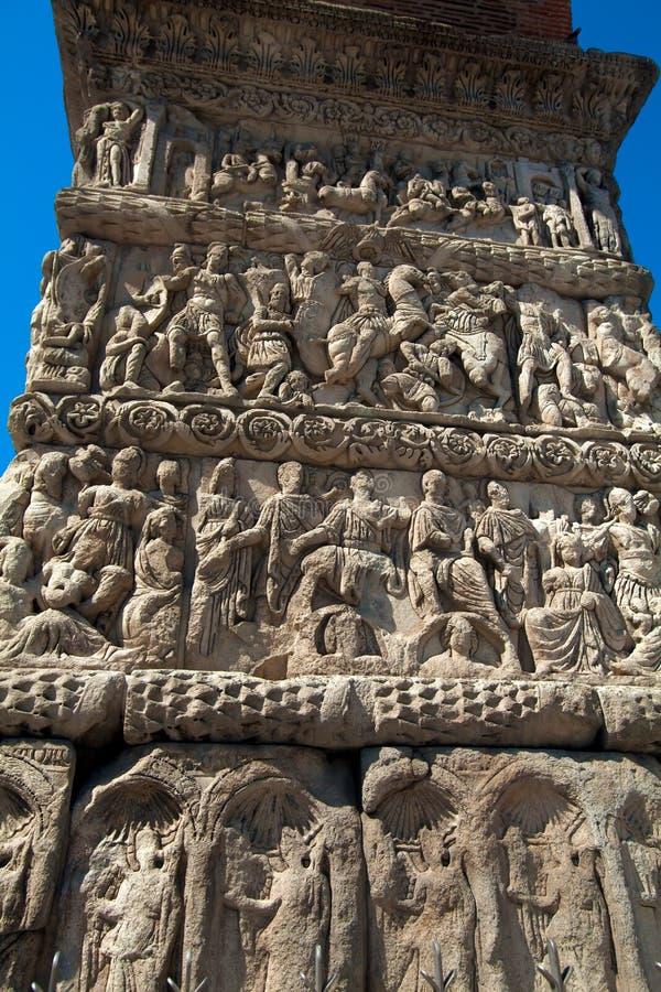 Arco de Galerius foto de archivo