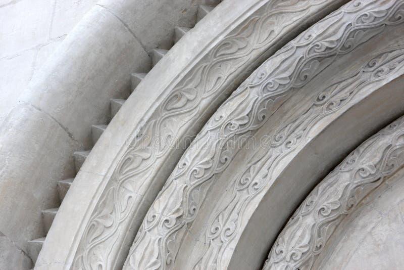 Arco de la catedral de Dormition fotografía de archivo