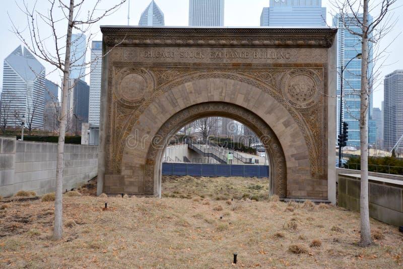 Arco de la entrada fotos de archivo