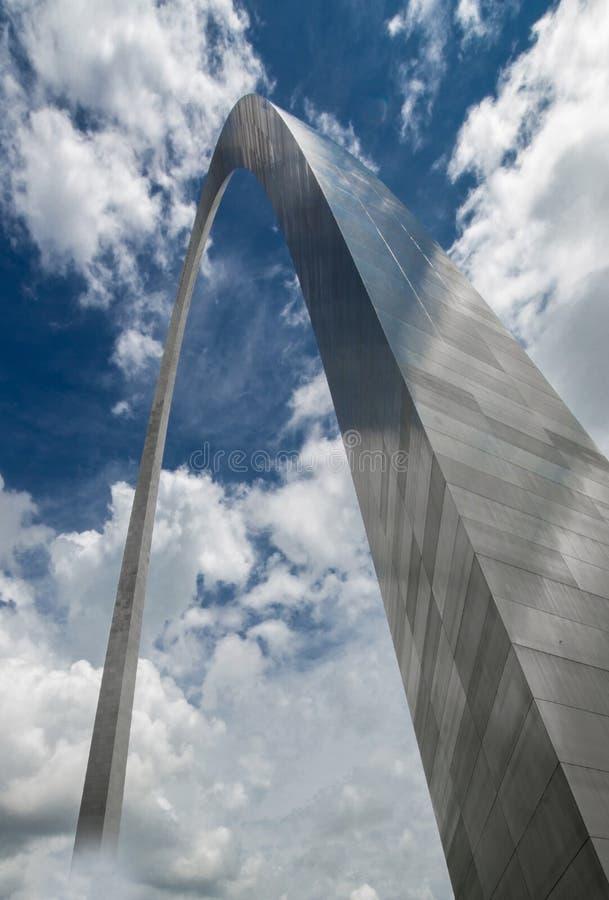Arco de la entrada en el santo Louis Missouri fotografía de archivo libre de regalías