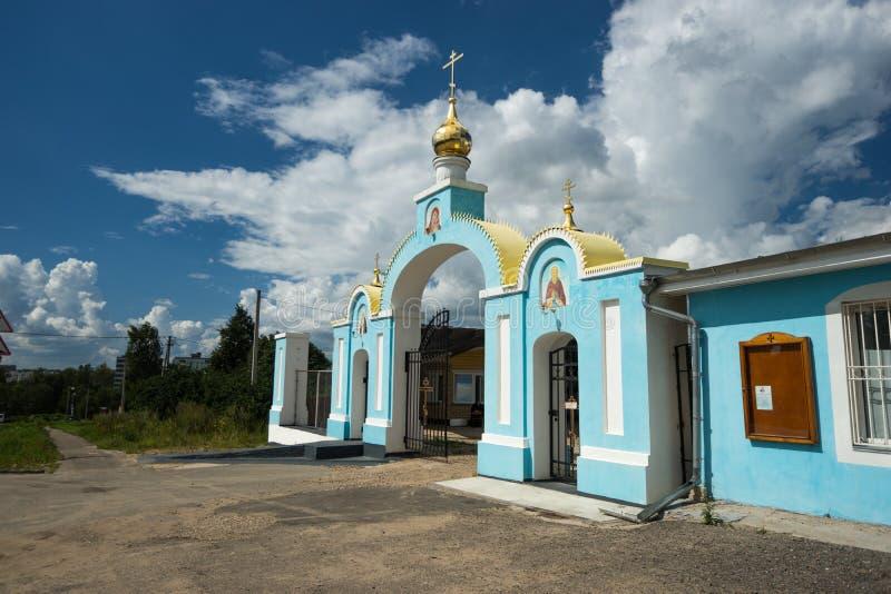 Arco de la iglesia imagenes de archivo
