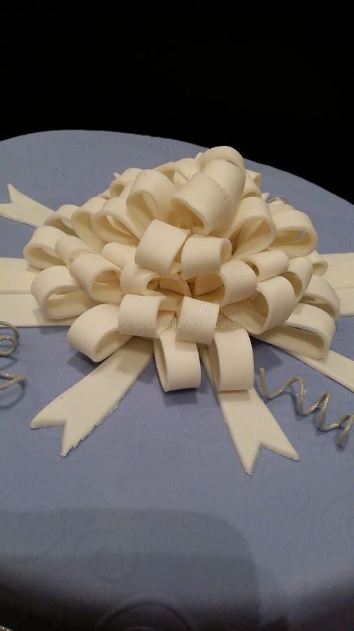 Arco de la pasta de azúcar imagen de archivo libre de regalías