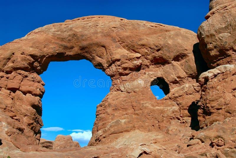 Arco de la torreta imágenes de archivo libres de regalías