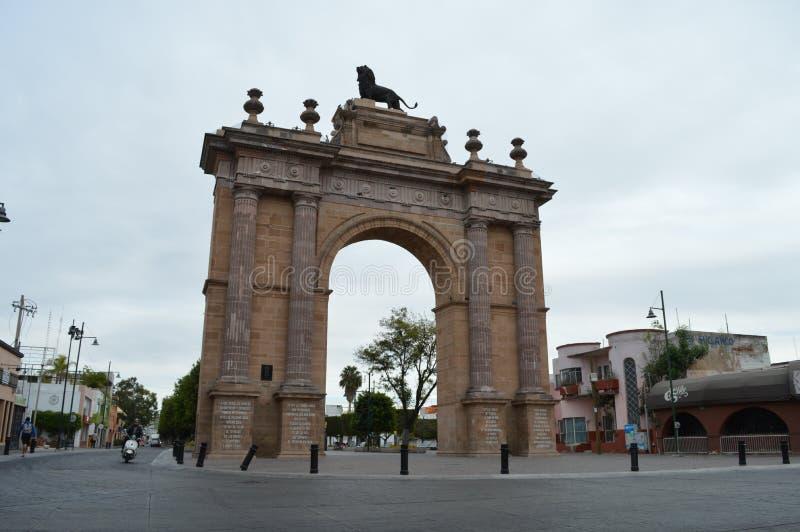 Arco de losu angeles Calzada zabytek zdjęcia royalty free