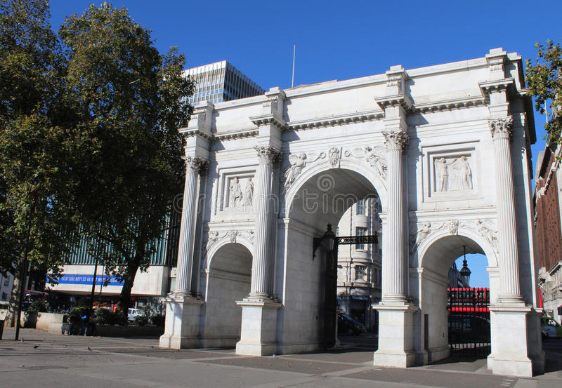 Arco de mármore, Londres fotos de stock