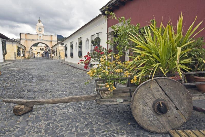 Arco de Santa Catalina royalty free stock photo