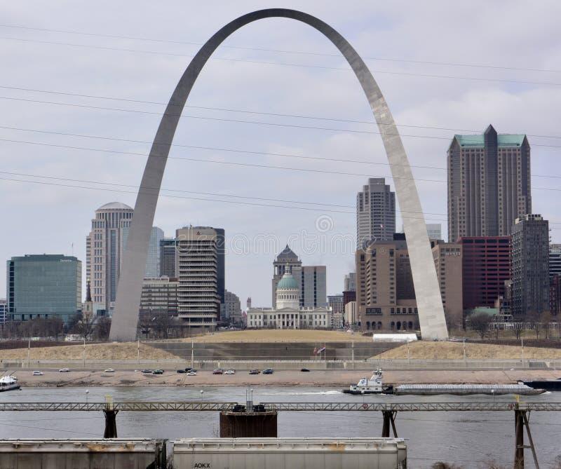 Arco de St Louis fotos de archivo libres de regalías