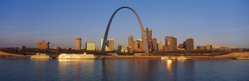 Arco de St. Louis imagen de archivo libre de regalías