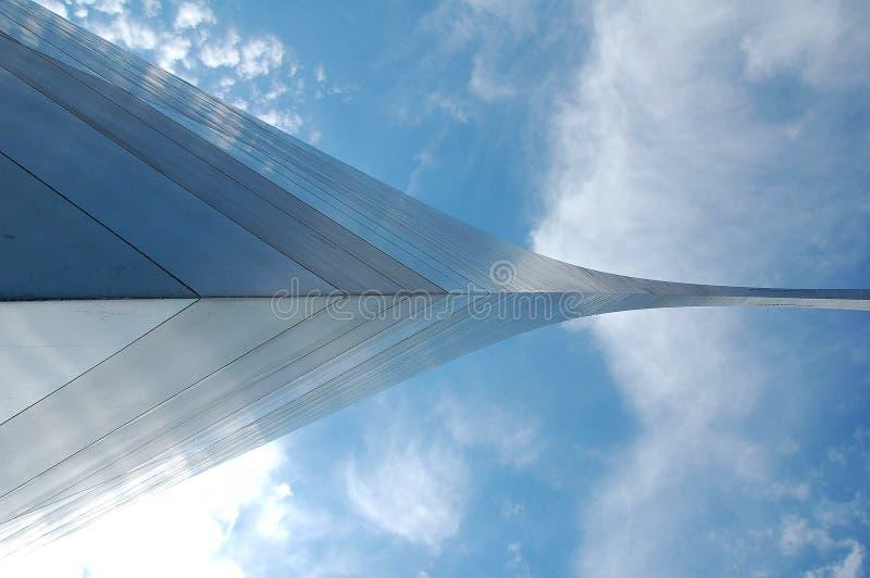 Arco de St Louis em Missouri fotografia de stock