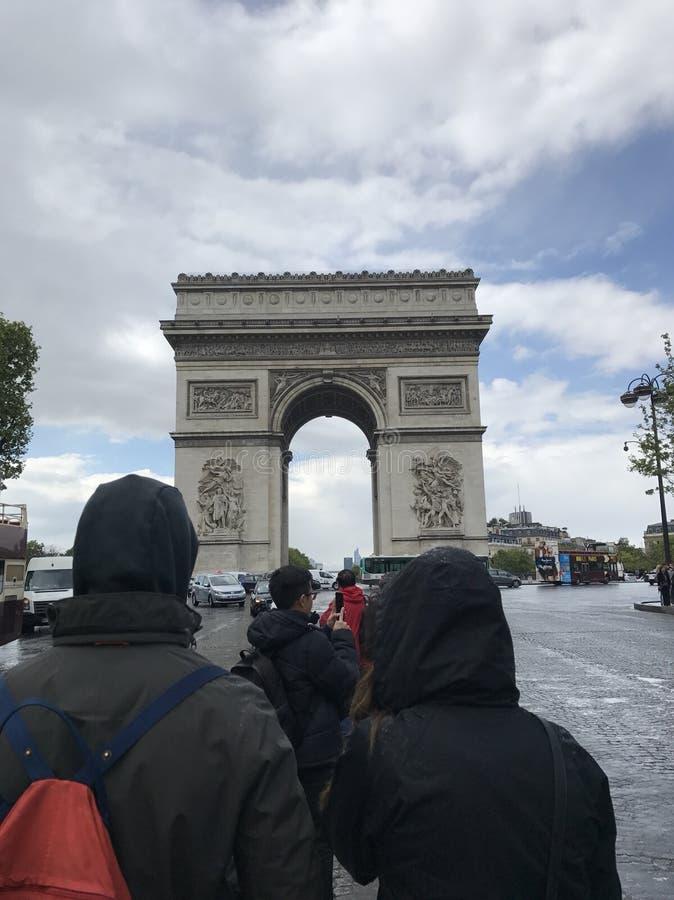 Arco de Thriomphe fotografia de stock royalty free