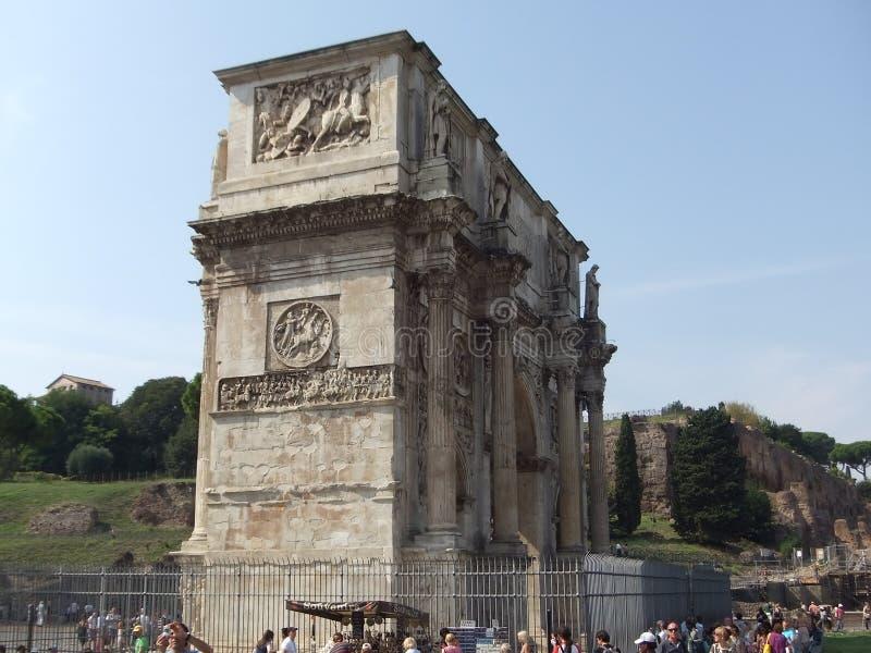 Arco de Titus em Roma imagem de stock royalty free
