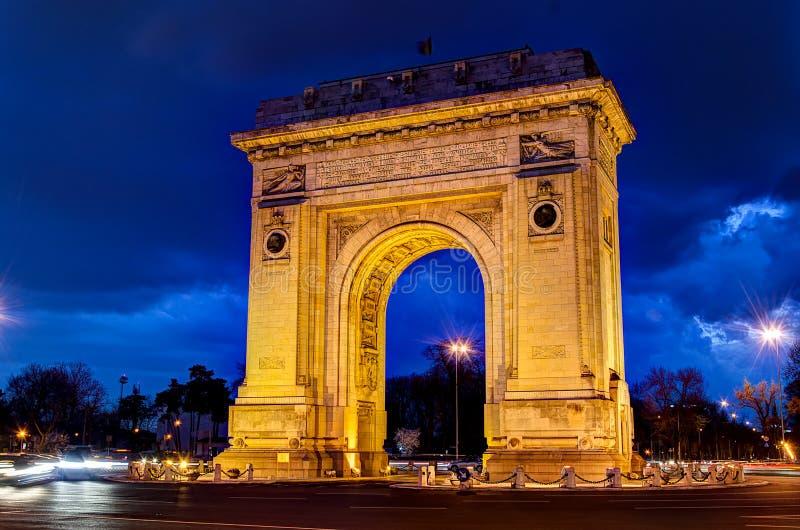 Arco de Triumph foto de stock