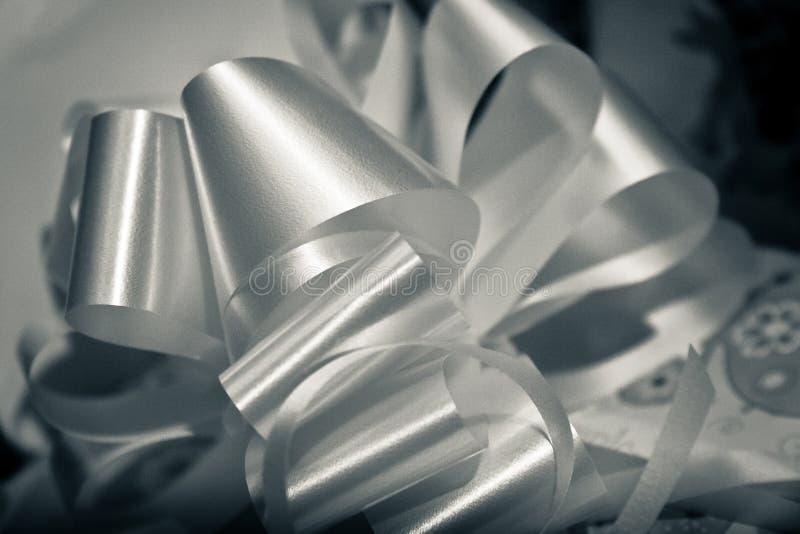 Arco dei regali di compleanno visto come elemento grafico immagine stock libera da diritti