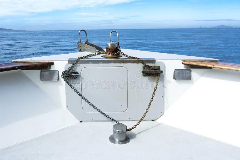 Arco del barco imagen de archivo