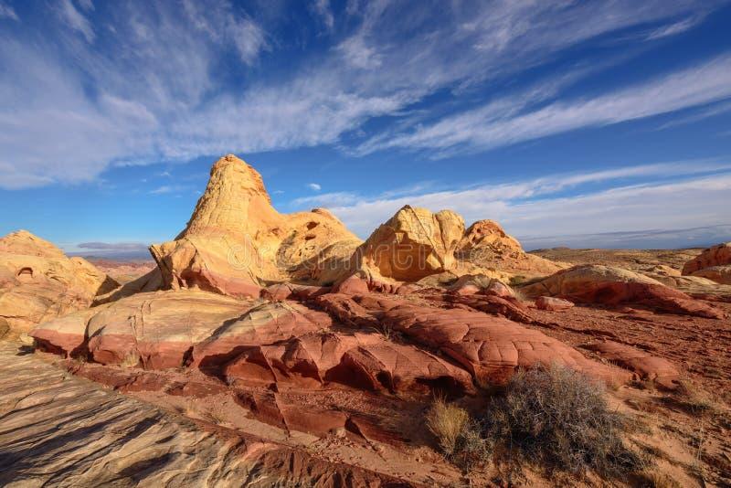 Arco del canyon del fuoco fotografia stock libera da diritti