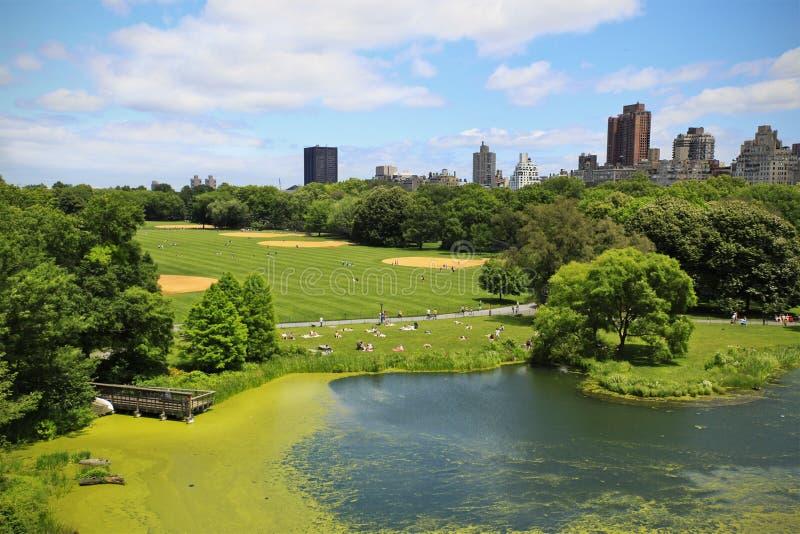 Arco del Central Park fotografie stock