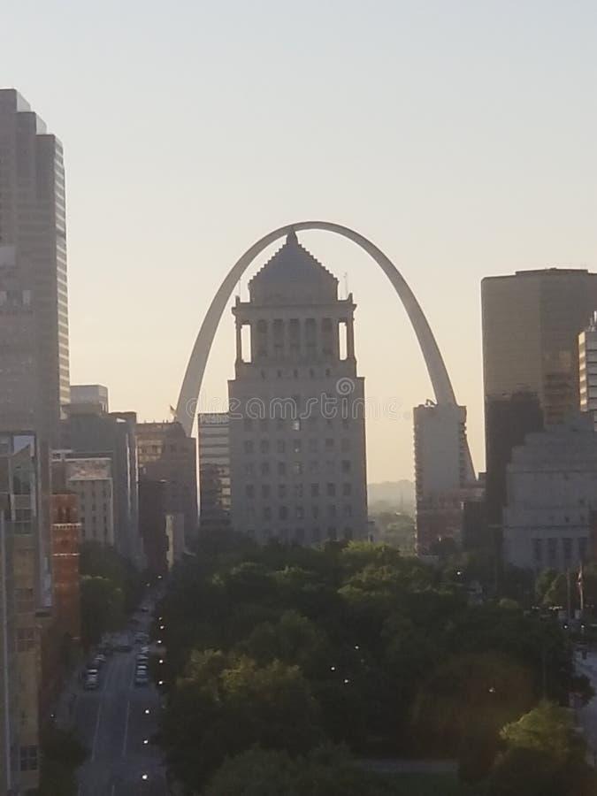 Arco del Gateway de St Louis imagen de archivo libre de regalías