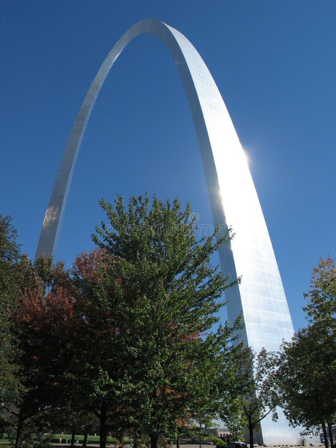 Arco del Gateway di St. Louis immagine stock