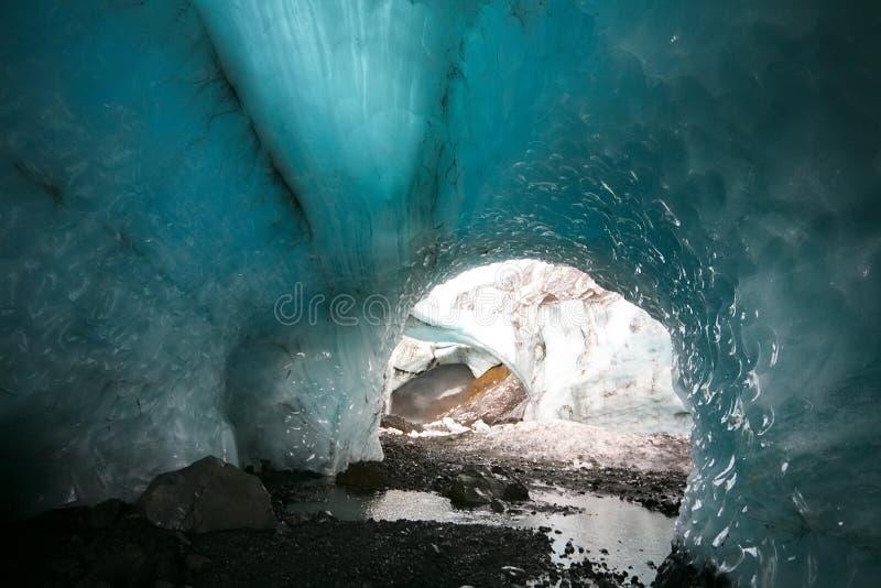 Arco del ghiaccio fotografie stock libere da diritti