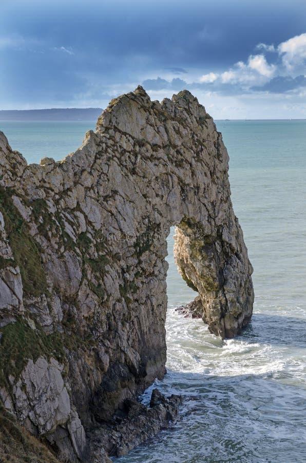 Arco del mar de la puerta de Durdle imagenes de archivo