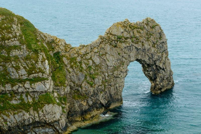 Arco del mare della porta di Durdle, Dorset fotografia stock