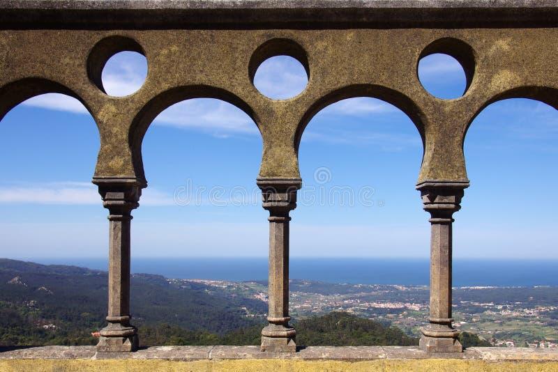 Arco del palacio imagenes de archivo