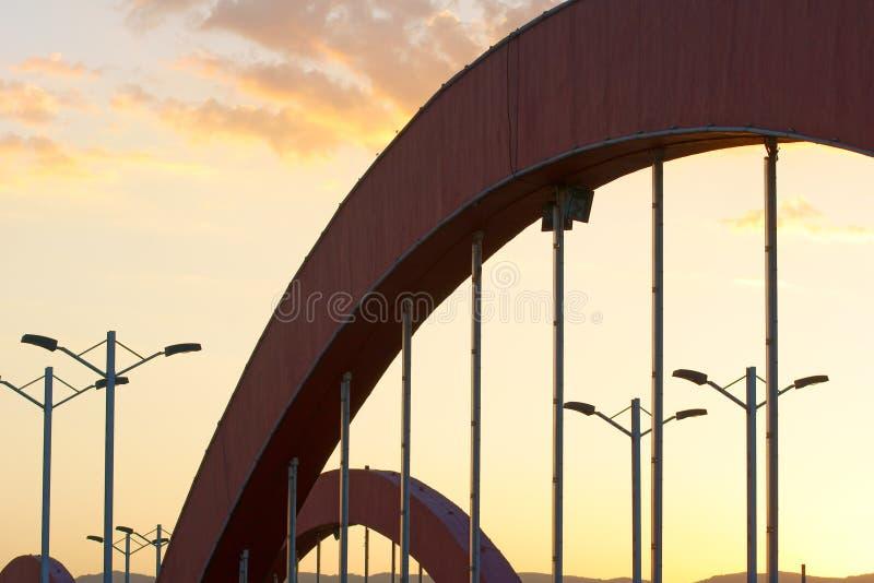 Arco del ponticello immagine stock libera da diritti