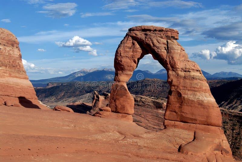 Arco delicado, fotografía de archivo